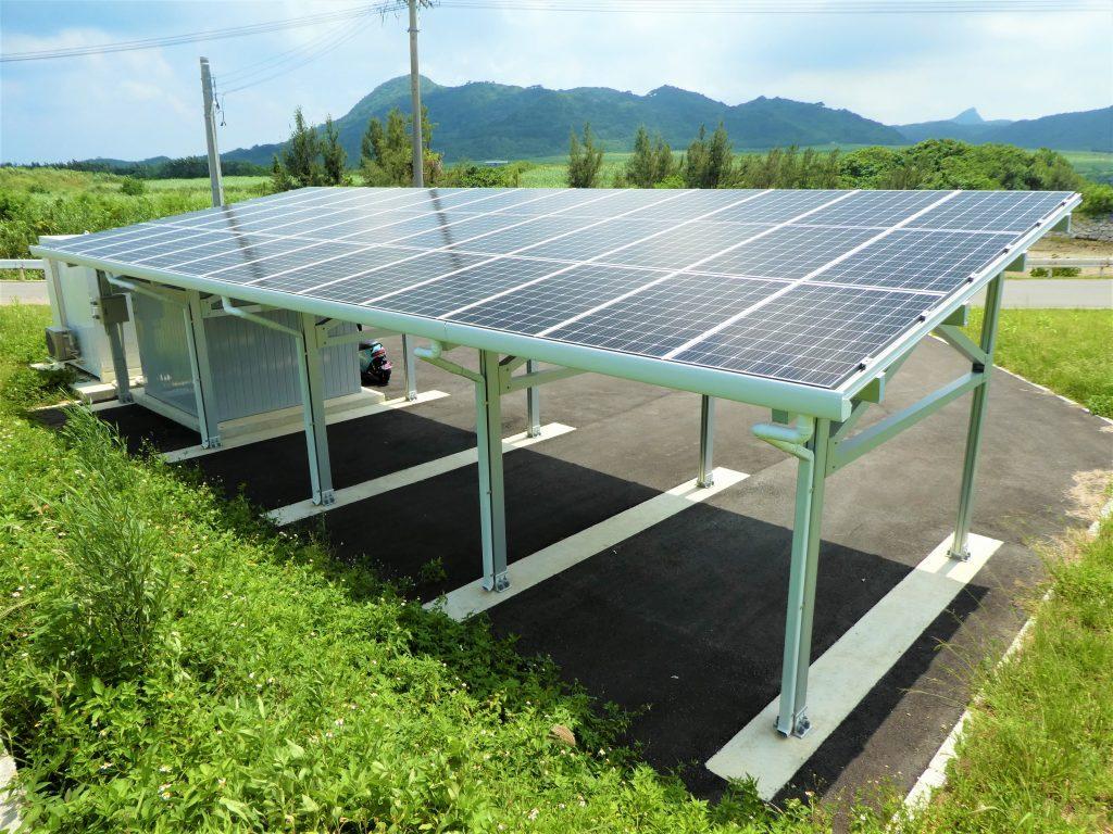 太陽光を設置したGo Station