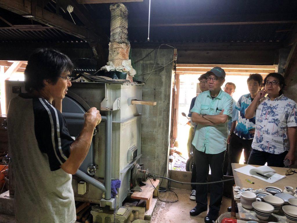 太朗窯小屋の窯