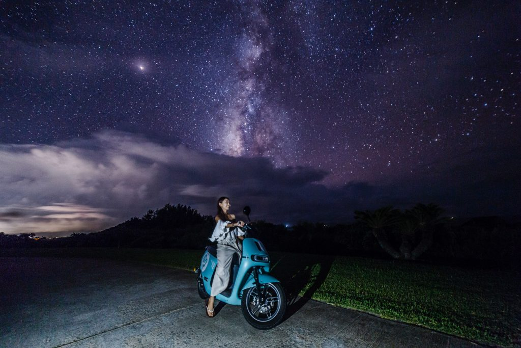 クラブメッド石垣島近くの星空