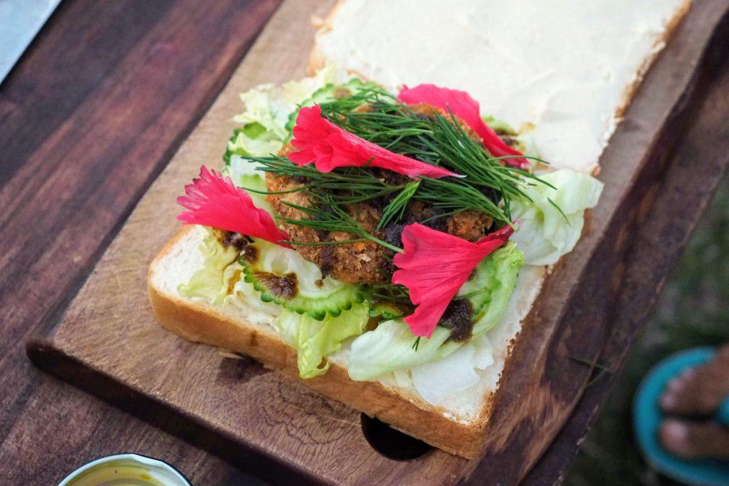 石垣島サンドイッチ(作:吉本多香美さん)