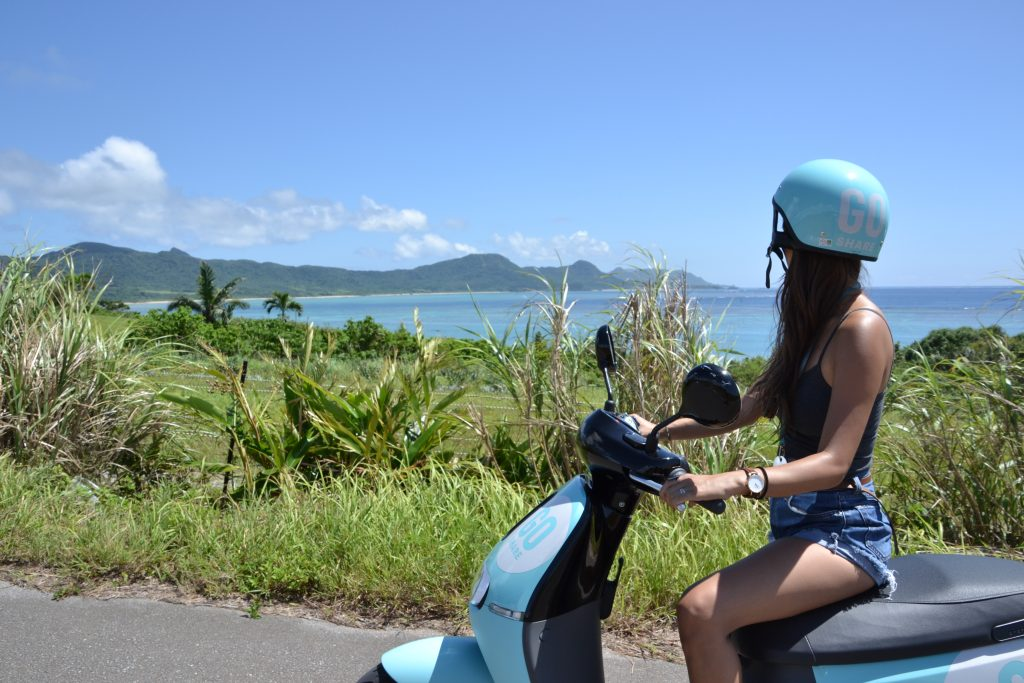 electric bike in Ishigaki